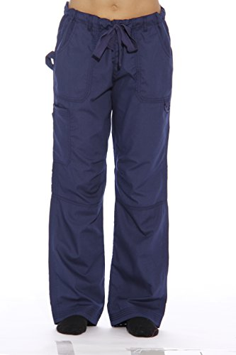 24000PNVY-M Just Love Women's Utility Scrub Pants / Scrubs (Halloween Scrubs)