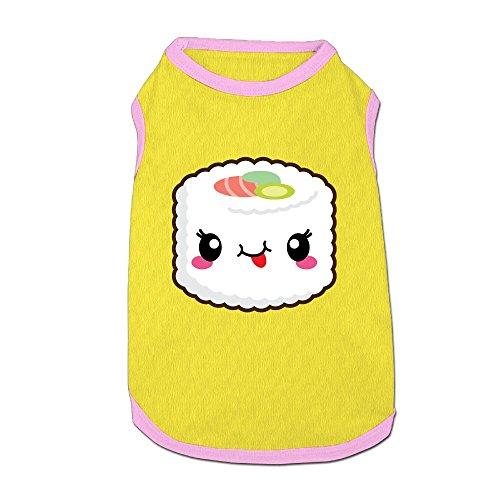Agilitynoun Dog T-Shirt Clothes Kawaii Sushi Doggy Puppy Tank Top Pet Cat Coats Outfit Jumpsuit Hoodie