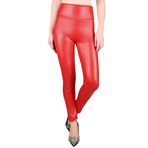 Red Leather Pants - 3