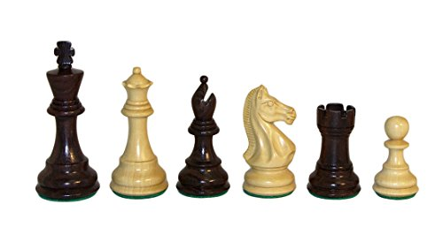 Rosewood Pro Chessmen Set by Checkmate