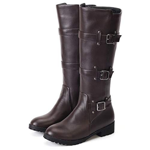 On Fashion Knee Melady Pull Brown Boots wW8HvZqE