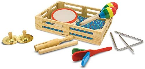 picture of Melissa & Doug Band-in-a-Box Clap! Clang! Tap! » 10