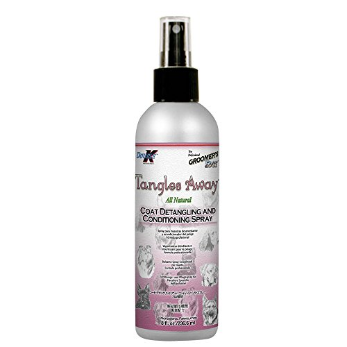 Double K Groomers Edge Tangles Away Spray Detangler, 8