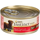 Nature's Variety Instinct Grain-Free Beef Canned Dog Food, 5.5 oz., Case of 12 For Sale