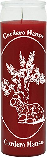 Calming Red Candle - Silkscreen 1 Color 7 Day