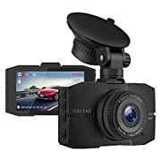 """#LightningDeal Campark Dash Cam 1080P Full HD DVR Dashboard Camera for Cars with 3"""" IPS Screen Super Night Vision 170° Wide Angle G-Sensor Loop Recording and Parking Monitor"""