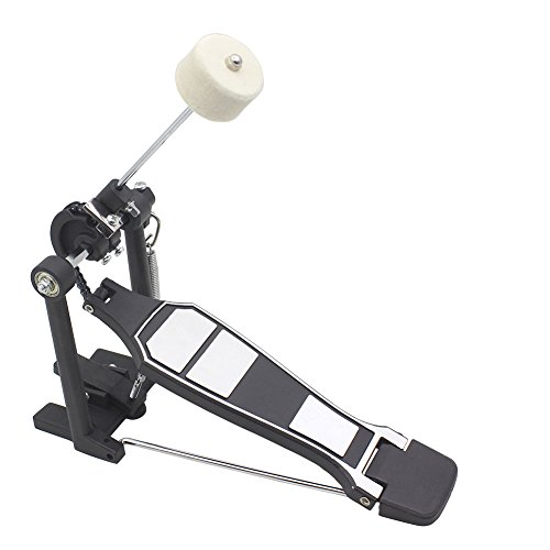 Vbestlife Kick Bass Drum Pedal,Aluminum Children Rack Pedal Beater Percussion Instrument Part