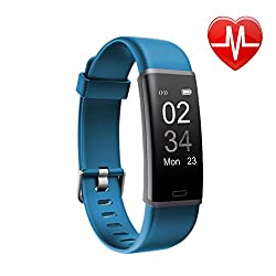 Letsfit Fitness Tracker, Activity Tracker Watch With Hr Monitor, Step Counter, Pedometer Watch, Calorie Counter Smart Watch For Kids Women & Men