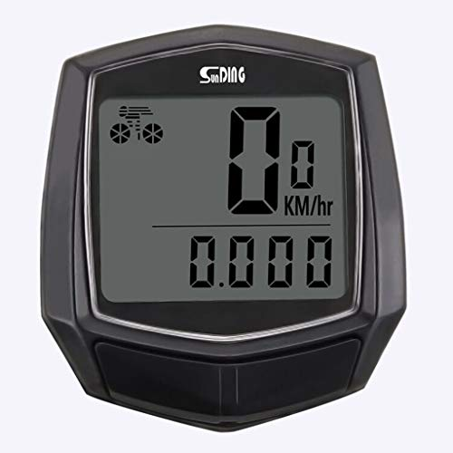 Price comparison product image Aobiny Bike AccessoriesBike Waterproof Wired Multifunctional Bicycle LCD Computer Speedometer Cycling Odometer Stopwatch (Black)