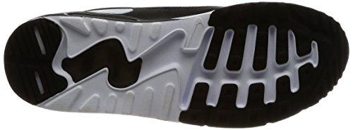 Nike Mænd Air Max 90 Ultra 2,0 Væsentlige Sneakers, Sort Sort (sort / Sort Hvid)