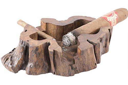 Elephant Tobacco Handmade Wooden Vintage Cuban Cigar Ashtray ()