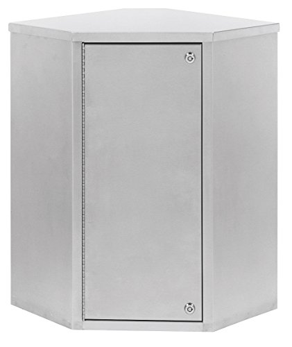 Single Door Corner Narcotic Cabinet with Dual Locks (22
