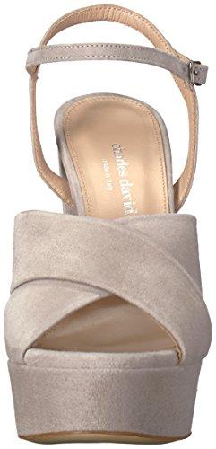 Sandal Women's David Platform Rima Grey Charles Dress w7XBqTw5x