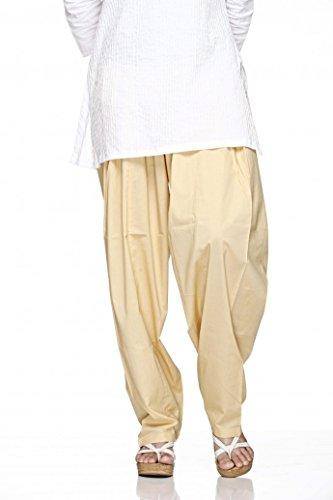 Cotton Plain Indian Salwar Pants in Several Colour - Kameez Yoga Dress by Ladyline (Image #2)