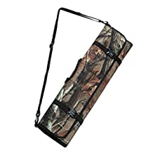 antWalking Outdoor Hunting Archery Training Quiver Bow and Arrow Carrier Holder Recurve Arrow Case Crossbow Bag with Adjustable Shoulder Strap