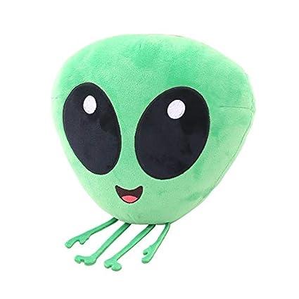Juguete De Peluche Emoji Emotion Green Et Plush Toys Cojín ...