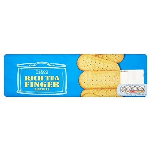 Tesco Rich Tea Finger Biscuits 250G