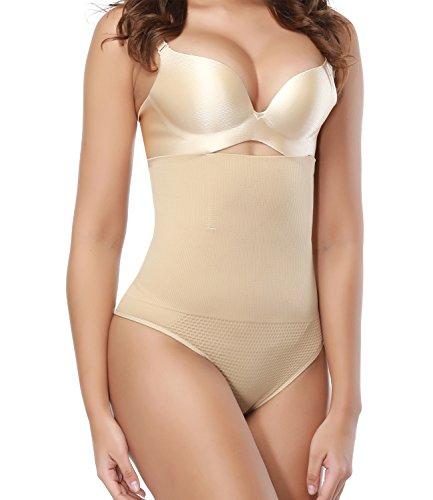 SEXYWG Women Waist Cincher Thong Panty Body Tummy Control Slimmer ()