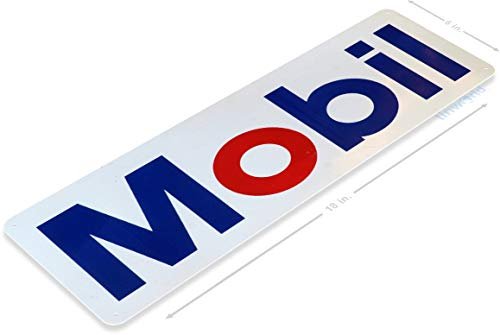 Tinworld TIN Sign A498 Mobil Retro Gas Oil Metal Sign Pump Station Garage Auto Shop Cave 6