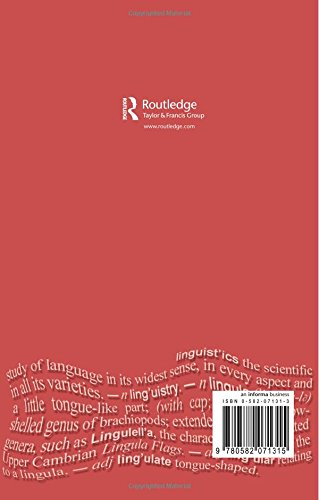 Knowledge Machines: Language and Information in a Technological Society (Language In Social Life)