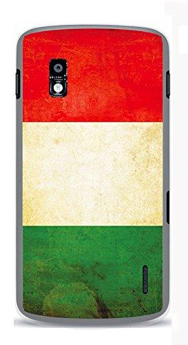 Onozo Carcasa bandera de Italia Vintage para LG Google Nexus ...
