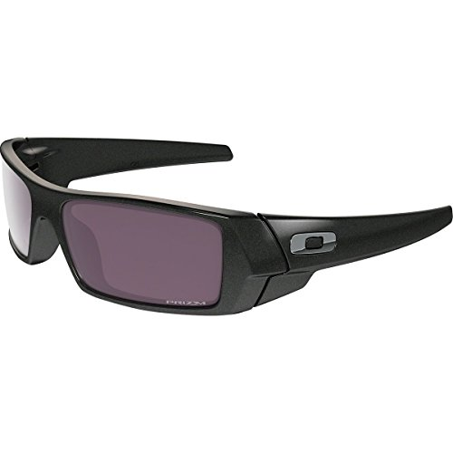 Oakley Men's Gascan Polarized Rectangular Sunglasses, Granite /Prizm Daily, - Glasses Oakley Safety Polarized