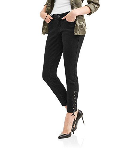 Zanadi Women's Skinny Leg Jeans With Lace Up Ankle for sale  Delivered anywhere in USA