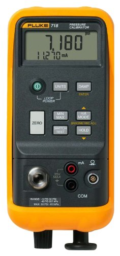 Fluke 718-1G Pressure Calibrator, -1 to 1 PSI Range Fluke Corporation 7181G