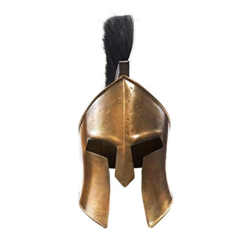 Historical Memories Medieval 300 Spartan Leonidas Movie Replica Helmet Armor Knight Adult Costume Functional Antique Design,Large]()