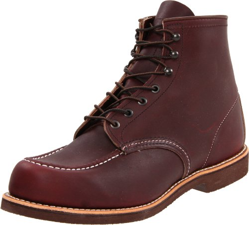 Red Wing Shoes Men's 200 6 Moc Boot,Oxblood Mesa,11.5 D US