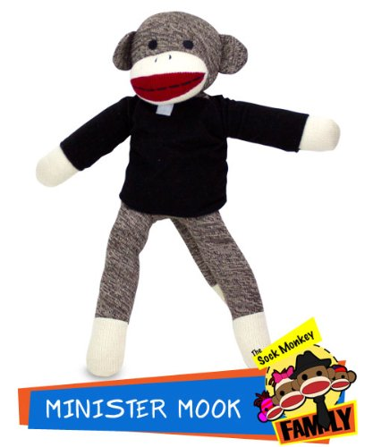 Sock Monkey Family Minister Mook from The