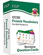 New Grade 9-1 GCSE AQA French: Vocabulary Revision Question Cards (CGP GCSE French 9-1 Revision)