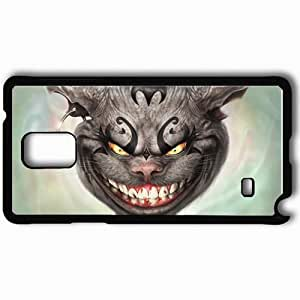 Personalized Samsung Note 4 Cell phone Case/Cover Skin American Mcgee S Alice Black