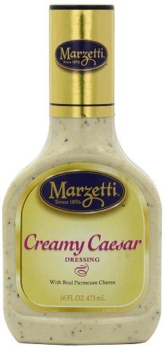 Marzetti Dressings, Creamy Caesar, 16 Ounce (Pack of 6)