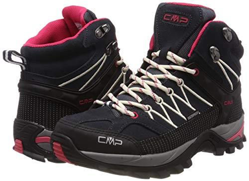 CMP Damen Rigel Mid Wmn Shoe Wp Trekking-& Wanderstiefel, Grau (Antracite-Off White 76uc), 38 EU 7