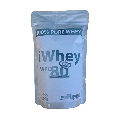 iWhey 1500g Whey Protein WPC 80 OHNE Zusätze Molkenprotein geschmacksneutral