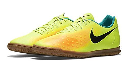 Magistax Ola II IC, Botas de Fútbol para Hombre, Amarillo (Volt/Black-Total Orange-Clear Jade), 41 EU Nike