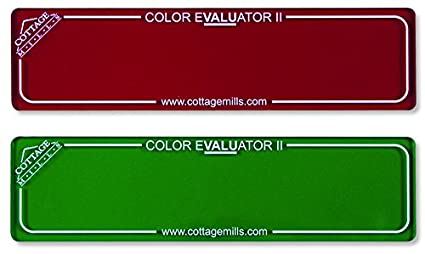 Finding Right Evaluator >> Amazon Com Color Evaluator Ii Red Green Viewing Filter Set