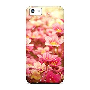 Ultra Slim Fit Hard JessyLoisel Cases Covers Specially Made For Iphone 5c- Flora