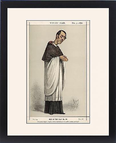 Framed Print Of Mackonochie/vfair 1870 by Prints Prints Prints