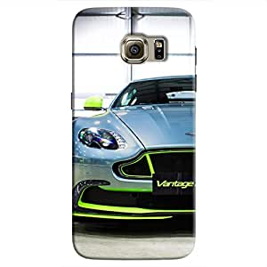 Cover It Up - AM Vantage GT8 Green Galaxy S7 Edge Hard Case