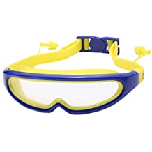 J&L Glasses Professional Swim Goggles Anti Fog UV Protection No Leaking For Adult Men Women Kids Swim Goggles,Clear Vision, Comfort Fit, Quick Release Strap, Non Leaking
