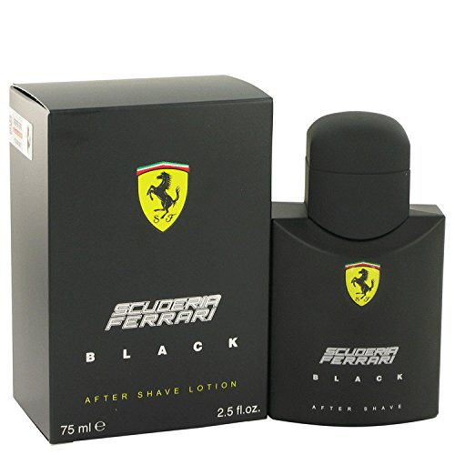 Price comparison product image Ferrari Scuderia Black Cologne By Ferrari 2.5 oz After Shave For Men - 100% AUTHENTIC
