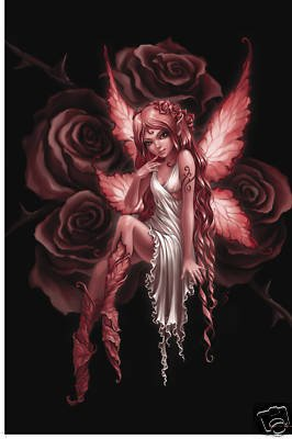 Fairies Poster Rose Fairy Rare Hot New