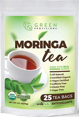 Moringa Tea - USDA Certified Organic