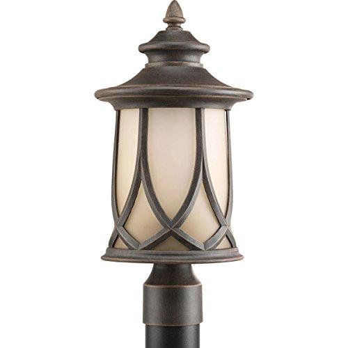 Progress Lighting P6404-122 Resort Collection 1-Light Post Lantern, Aged Copper