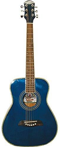 Oscar Schmidt OGHS-TBL 1/2 Size Dreadnought Acoustic Guitar