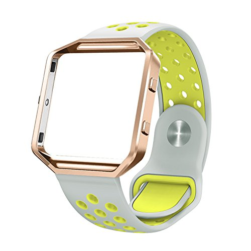 Fitbit Silicone Swees Replacement Silver