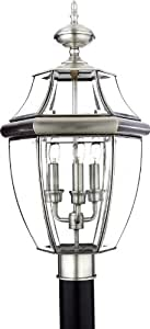 Aurora Lighting Pewter Finished Outdoor Light