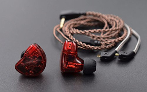 IEM-Earbuds-KZ-ZS10-HiFi-In-Ear-Headphones-with-Five-Drivers-without-Microphone-Red